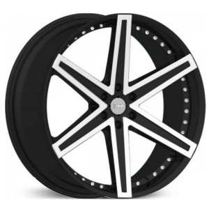 Dcenti DW6B  Wheels Machined Black