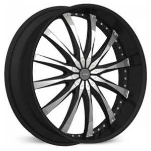 Dcenti DW8  Wheels Machined Black