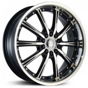 Dcenti DW906  Wheels Machined Black