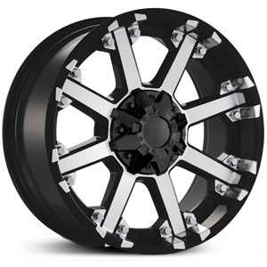 Dcenti DW3  Wheels Machined Black
