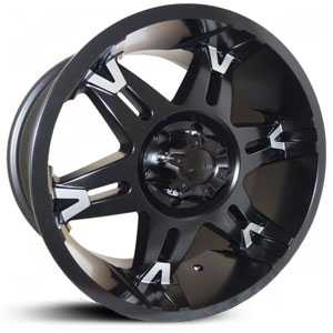 Dcenti DW902  Wheels Black Milled