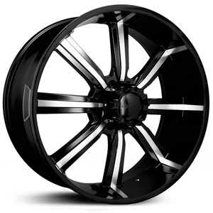 Dcenti DW903  Wheels Machined Black