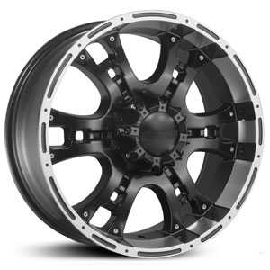 Dcenti DW915  Wheels Machined Black