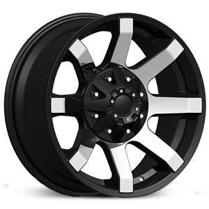 Dcenti DW950  Wheels Machined Black