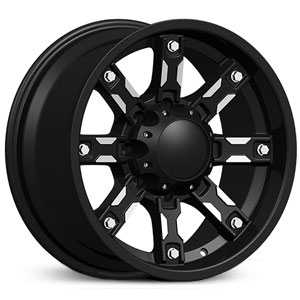 Dcenti DW970  Wheels Machined Black
