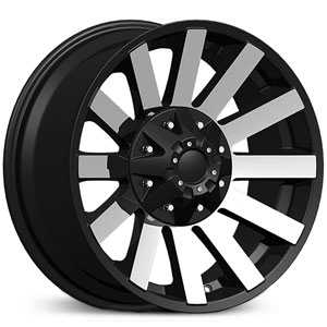 Dcenti DW980  Wheels Machined Black