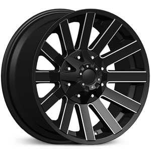 Dcenti DW980  Wheels Milled Black