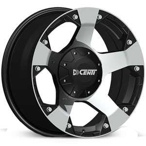 Dcenti DW995  Wheels Machined Black