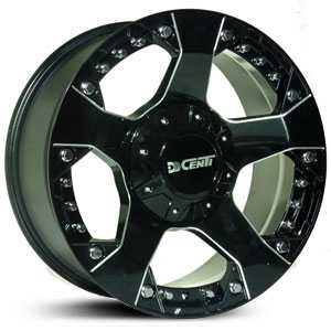 Dcenti DW995  Wheels Milled Black