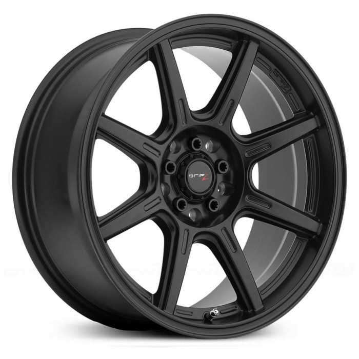 Drifz 308B Spec-R  Wheels Carbon Black