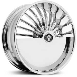 Dub Splitter Skirtz S600  Wheels Chrome