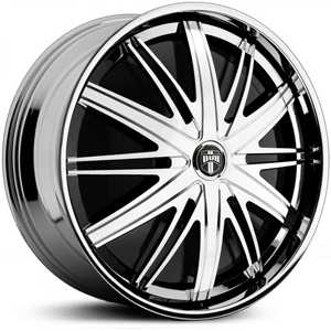 Dub Staxx Spinner S722  Wheels Chrome
