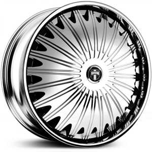 Dub Boogee Spinner S723  Wheels Chrome
