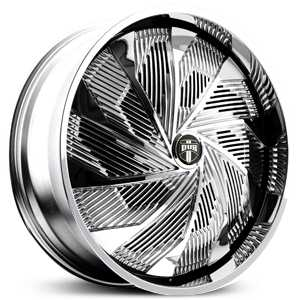 Dub Shudda Spinner S724  Wheels Chrome