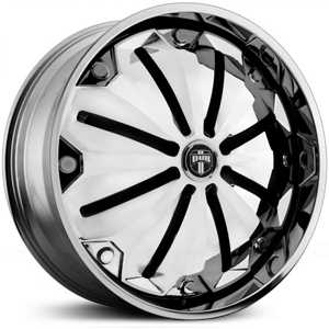 Dub Chill Spinner S727  Wheels Chrome