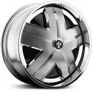 Dub H.A.M. Spinner S744  Wheels Chrome