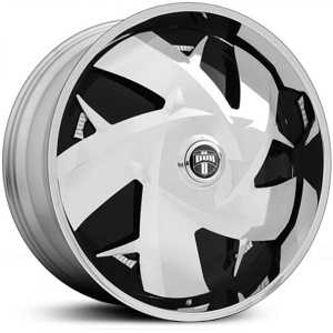 Dub WU Spinner S747  Wheels Chrome