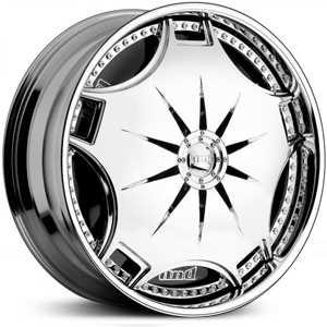 Dub Ganja Spinner S788  Wheels Chrome