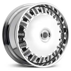 Dub Opera Spinner S798  Wheels Chrome