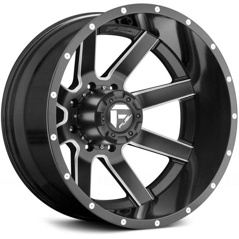 D262 Maverick Dually Black Milled (Rear)