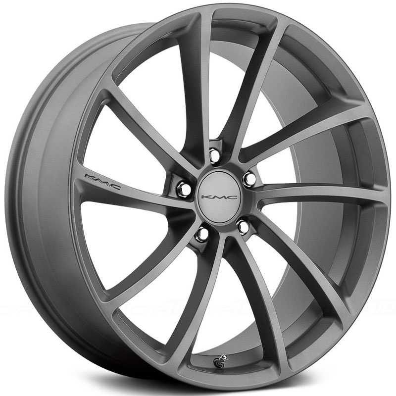 KMC KM691 Spin  Wheels Gunmetal
