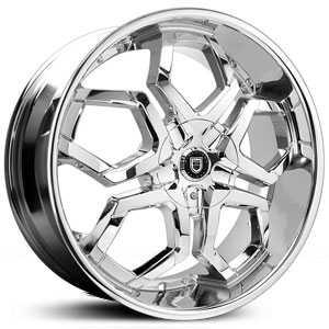 Lexani Hydra Covered Cap  Wheels Full Chrome