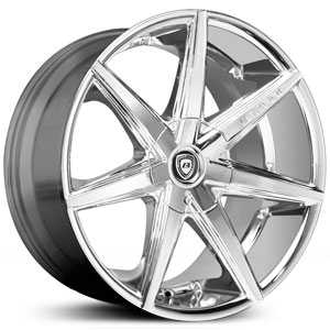 Lexani R-7 SEVEN  Wheels Full Chrome