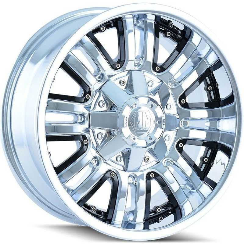 Mayhem Assault 8070  Wheels Chrome