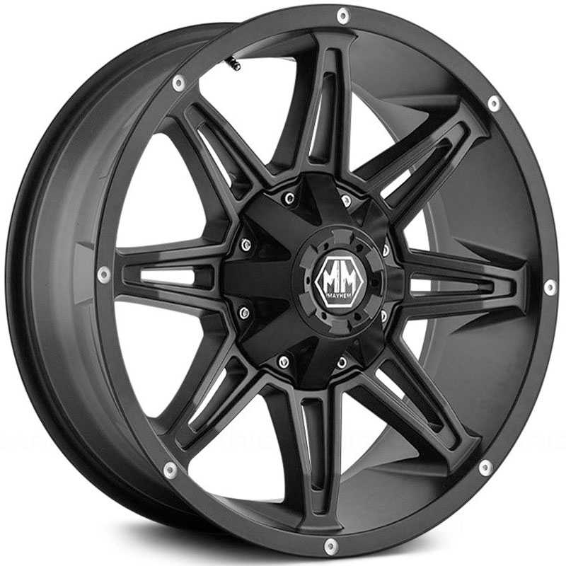 Mayhem Rampage 8090  Wheels Matte Black