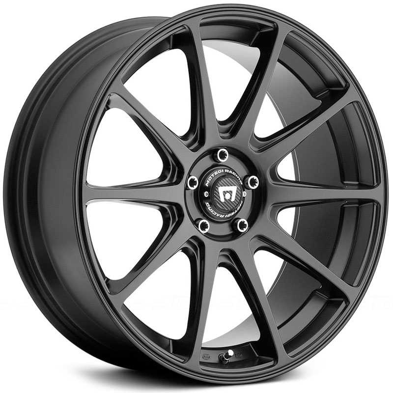 Motegi Racing MR127  Wheels Satin Black