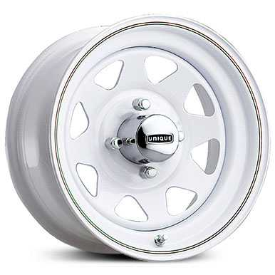 Pacer 21W VW White Spoke  Wheels White