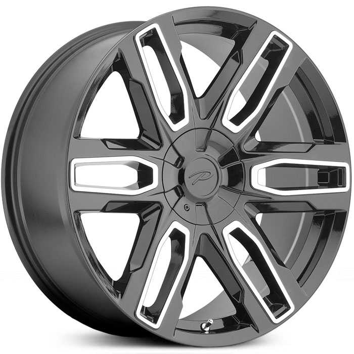 Pacer 787MB Benchmark  Wheels Gloss Black w/ Diamond Cut Accents & Clear-Coat