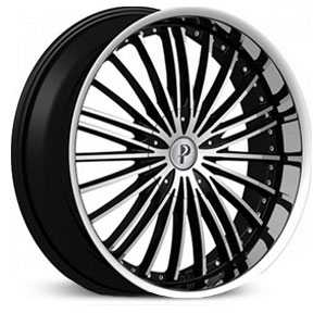 Phino PW10 EPIC  Wheels Black Machined
