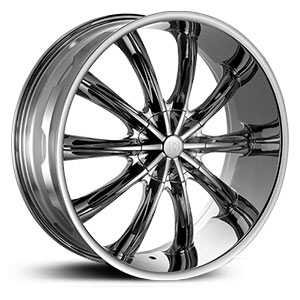Red Sport RSW-22  Wheels Chrome