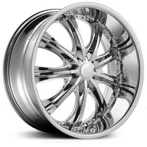 Red Sport RSW-33  Wheels Chrome
