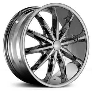 Red Sport RSW-44  Wheels Chrome