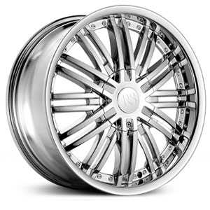 Red Sport RSW-99  Wheels Chrome