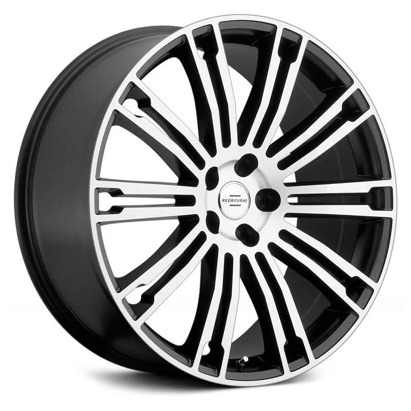 Redbourne Manor  Wheels Matte Black w Matte Machined Face