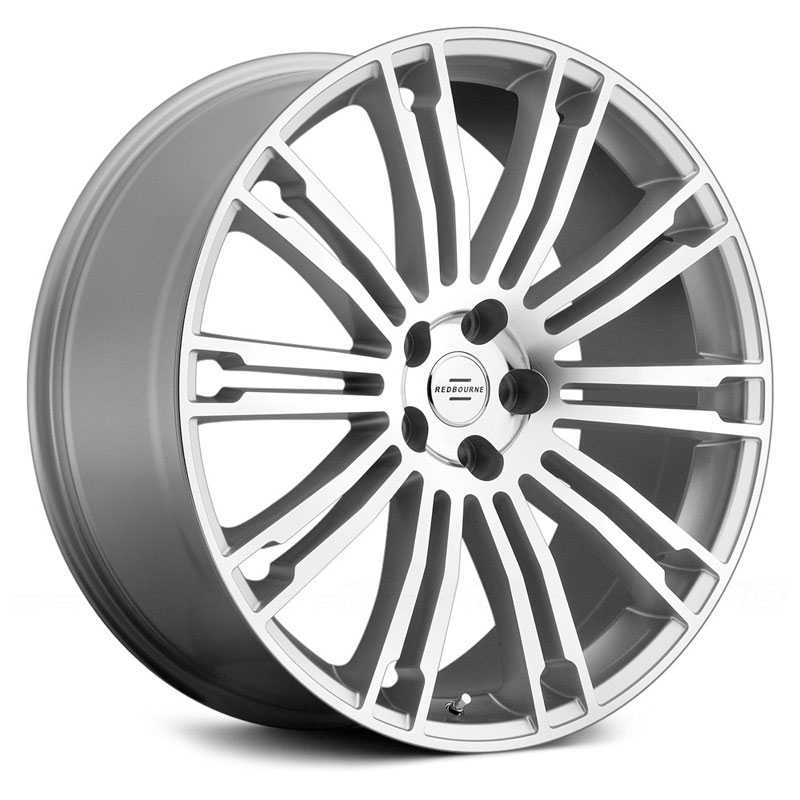 Redbourne Manor  Wheels Silver w/ Mirror Cut Face
