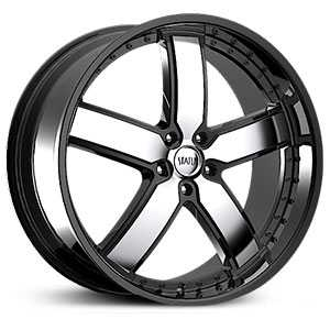 22x8.5 Status Take-Over Gloss Black w/ Machined Face HPO