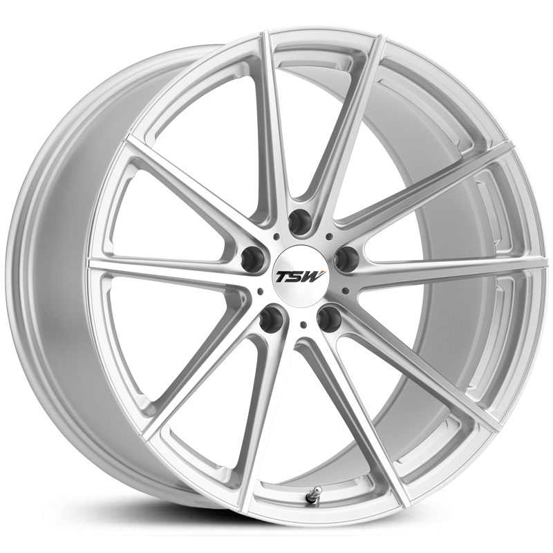 TSW Bathurst  Wheels Silver w/ Mirror Cut Face