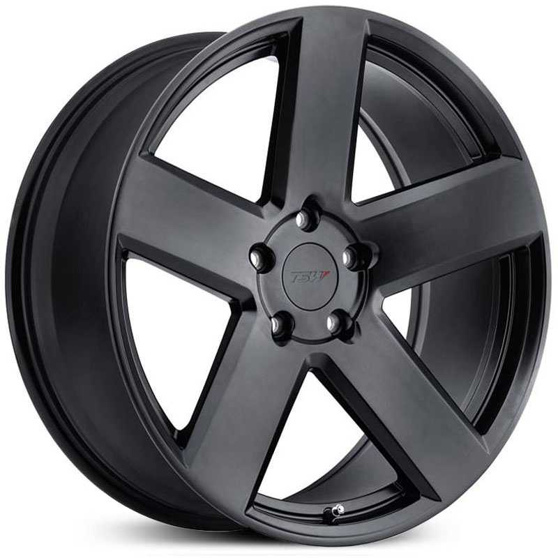 TSW Bristol  Wheels Matte Black