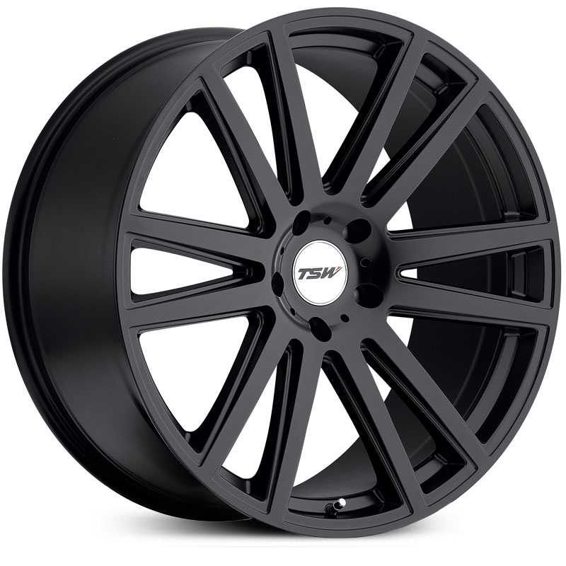 TSW Gatsby  Wheels Matte Black
