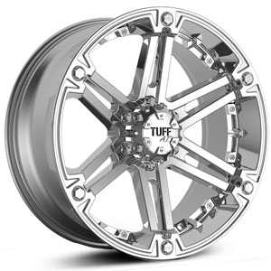 Tuff All Terrain T01  Wheels Chrome w/ Chrome