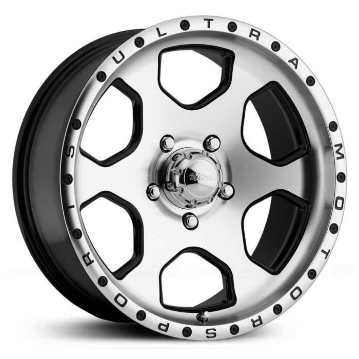 Ultra 175U Rogue  Wheels Diamond Cut Face w/ Gloss Black Accents