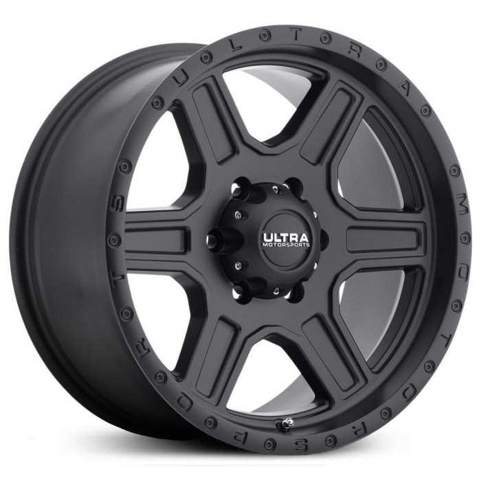 Ultra 176SB Vagabond  Wheels Satin Black w/ Satin Clear-Coat