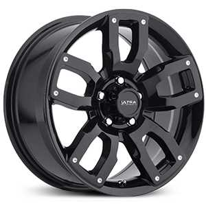 Ultra 251BK Decoy CUV  Wheels Gloss Black w/ Milled Dimples & Clear-Coat