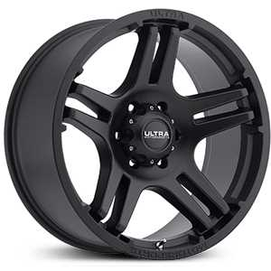 Ultra 264SB Bully  Wheels Satin Black w/ Satin Clear-Coat