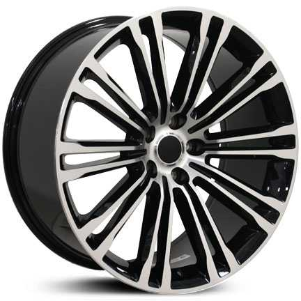 Chrysler 300 Style (CL05)  Wheels Black Machined
