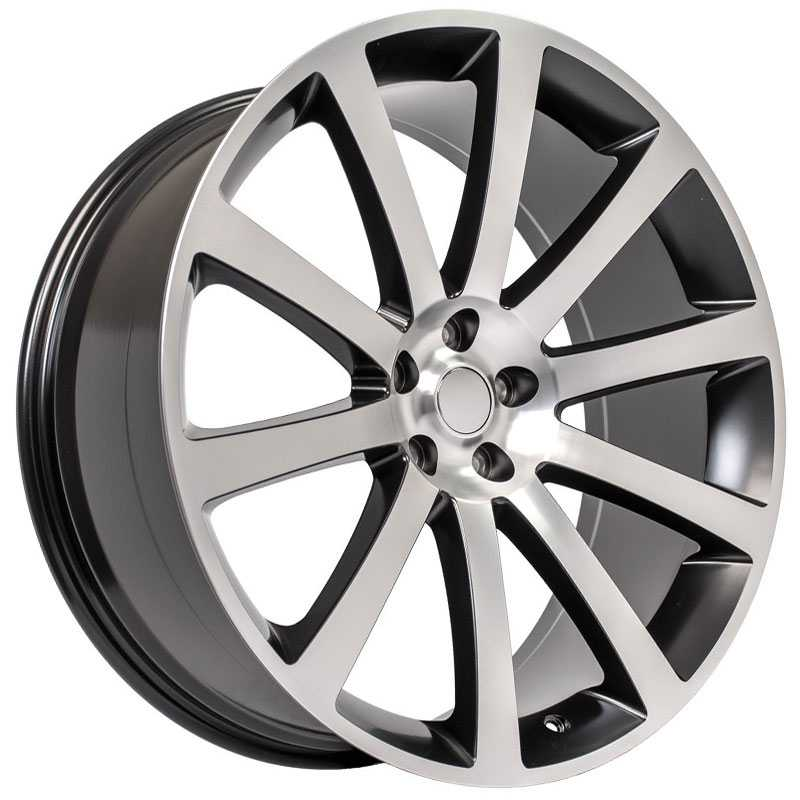 Chrysler 300 SRT Style (CL02)  Wheels Matte Black Machined